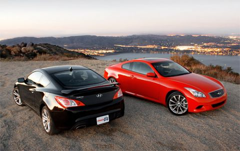 Inside Line Pits Genesis Coupe Against G37 Coupe, Results May Surprise