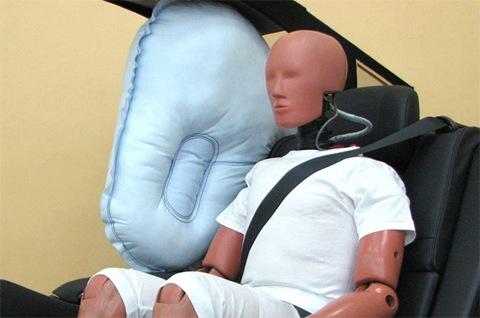 Toyota Develops World's First Centre Airbag