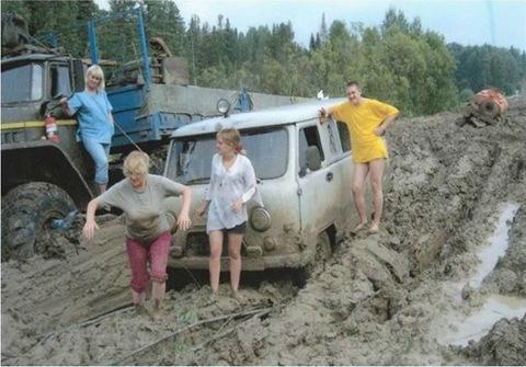 Russia's Lena Highway: Australia, We've Got It Good