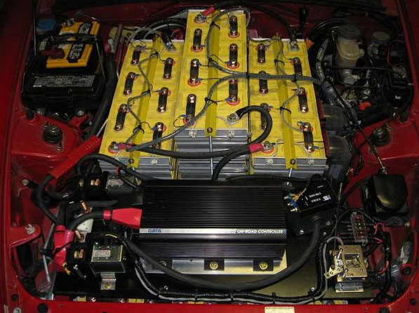 AP2 Honda S2000 EV