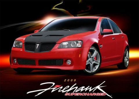 2009 Pontiac SLP Firehawk G8 GT Details Released