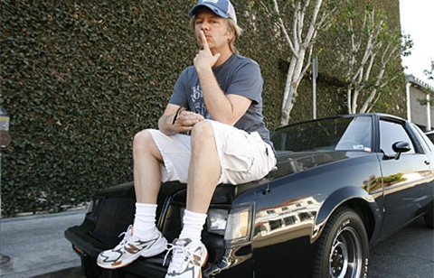 Celebrities And Their Rides: Now You Can Finally (Maybe) Like David Spade