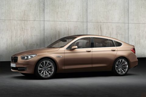 BMW 5 Series Gran Turismo Concept: Official Pics Released