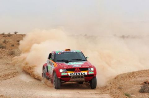 Mitsubishi Pulls Out of Dakar Rally And All Other Cross-Country Events