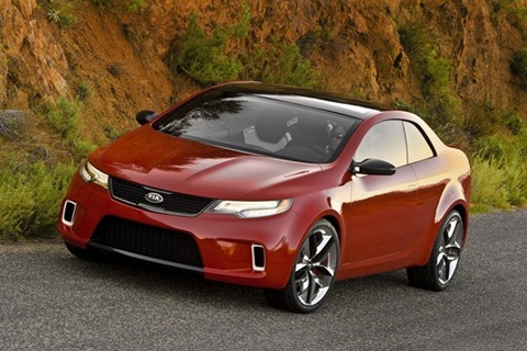 2010 Kia Cerato/Forte/Spectra XK Coupe Spotted In Testing