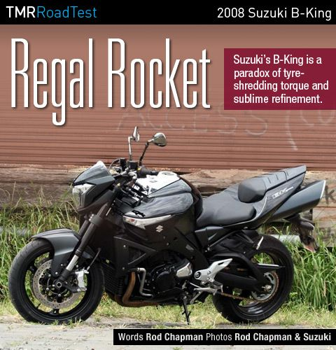 2008 Suzuki B-King Road Test Review