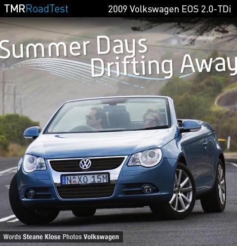2009 Volkswagen Eos 2.0-TDi 6-Speed DSG Road Test Review