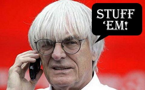 """F1 Boss Bernie Ecclestone Declares Honda """"No Great Loss"""""""