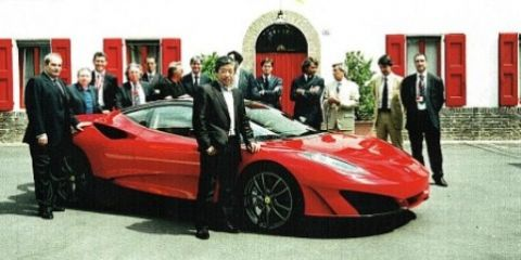 Fioravanti Designed Ferrari SP1