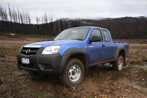 Mazda Updates BT-50 Range For 2009