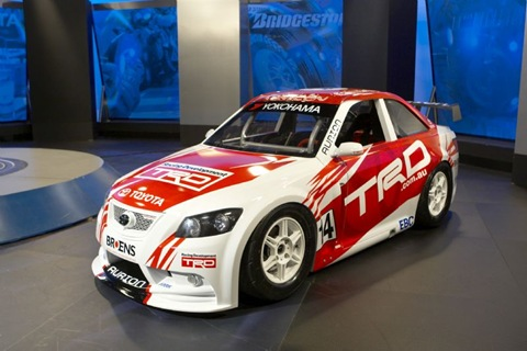 Toyota Launches TRD Aurion In Aussie Racing Cars Series