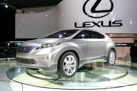 2009 Lexus LF-Xh: 2008 Sydney Motor Show