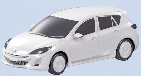 2009 Mazda3 Revealed Accidentally?