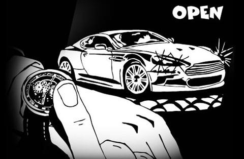 On The Third Stroke, It Will Be Aston Martin O'Clock...
