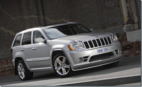 2008 Jeep Grand Cherokee SRT8 Takes its Thunder Down Under... Again