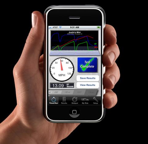 Third Party App Turns iPhone Into iDatalogger