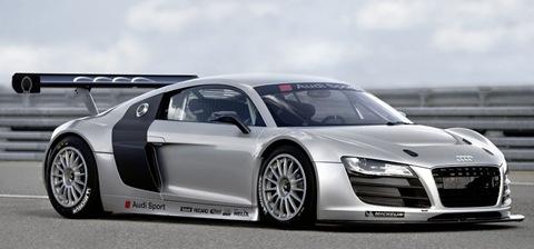 Audi Announces GT3-spec R8