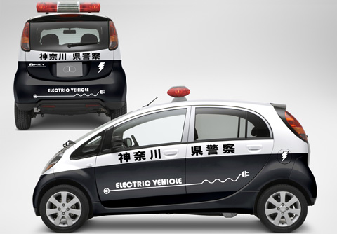 The Thin Green Line: Japanese Police take delivery of eco-friendly cruiser