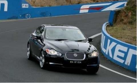 Jaguar XF SV8 Joins the 2008 Mountain Rally Field