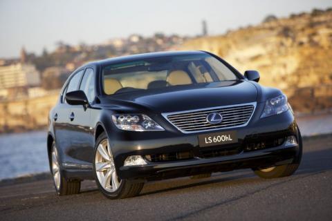 Lexus LS600h enjoys massive demand