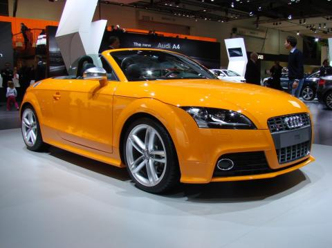 Audi TTS and RS6 Avant at 2008 Melbourne Motor Show