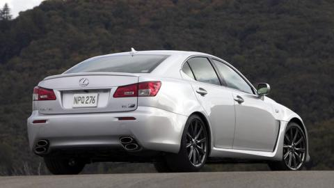 """Lexus IS-F may be getting the """"R"""" treatment"""