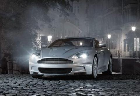 Top Gear test the Aston Martin DBS