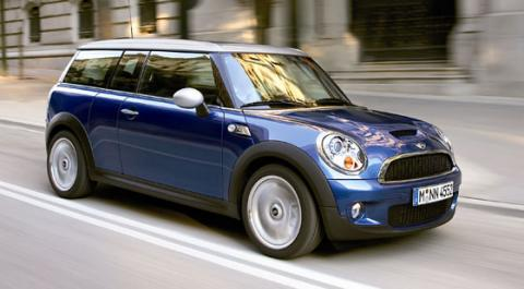 More Mini Clubman pictures and information