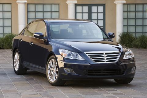 2009 Hyundai Genesis sedan officially unveiled