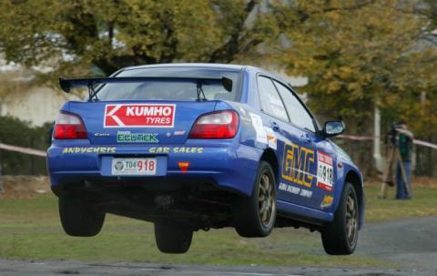 2007 Targa Tasmania WRX victory
