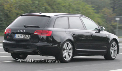 Audi RS6 to pack 426kW punch