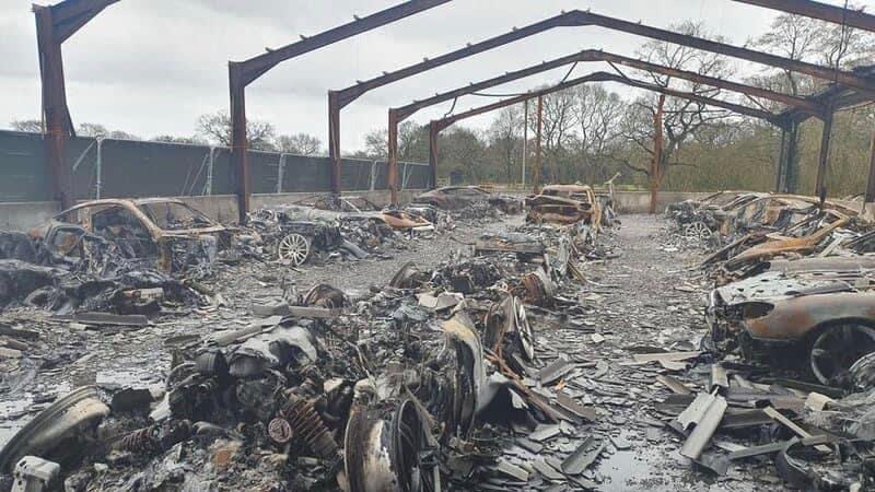 Alleged arson attack destroys multi-million dollar car collection