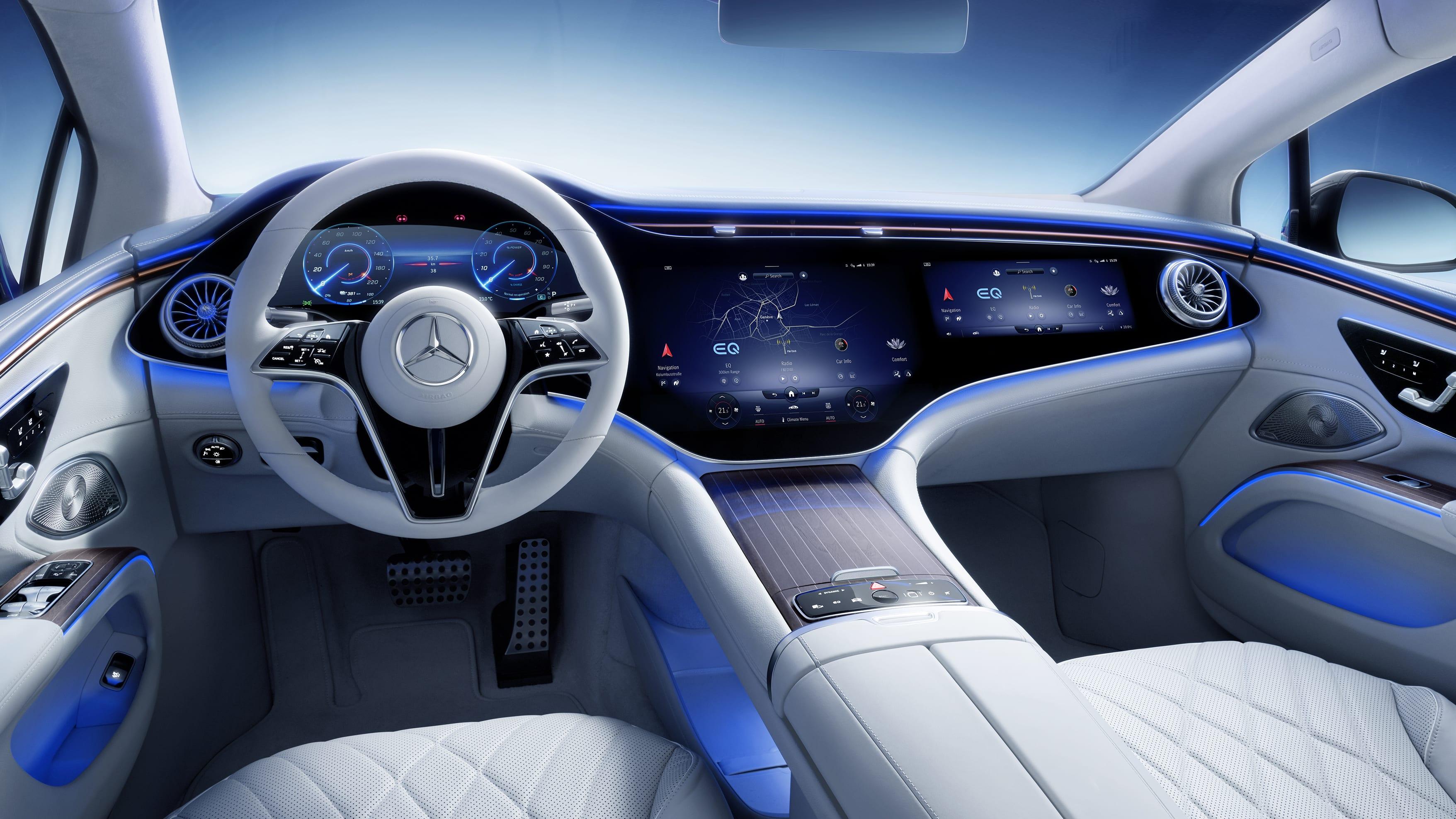 2021 Mercedes-Benz EQS interior unveiled