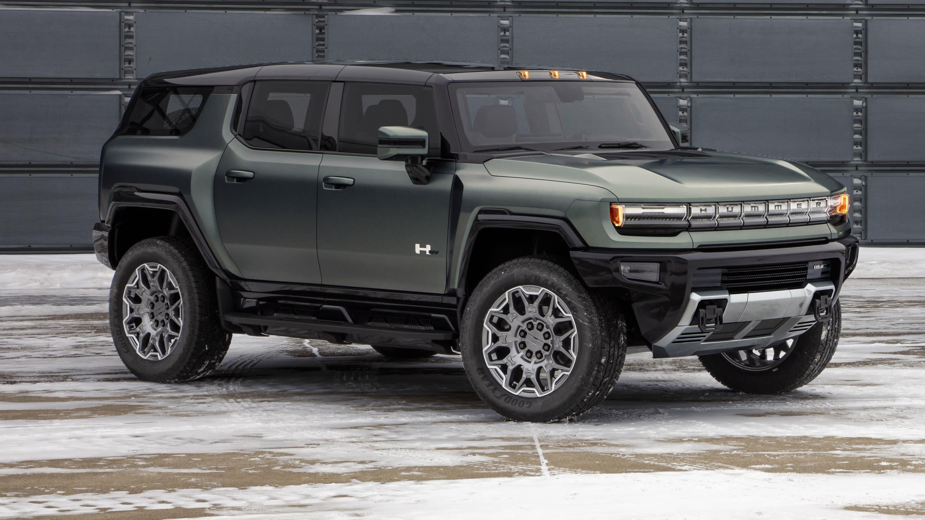 2024 GMC Hummer EV SUV revealed, Australian potential unclear