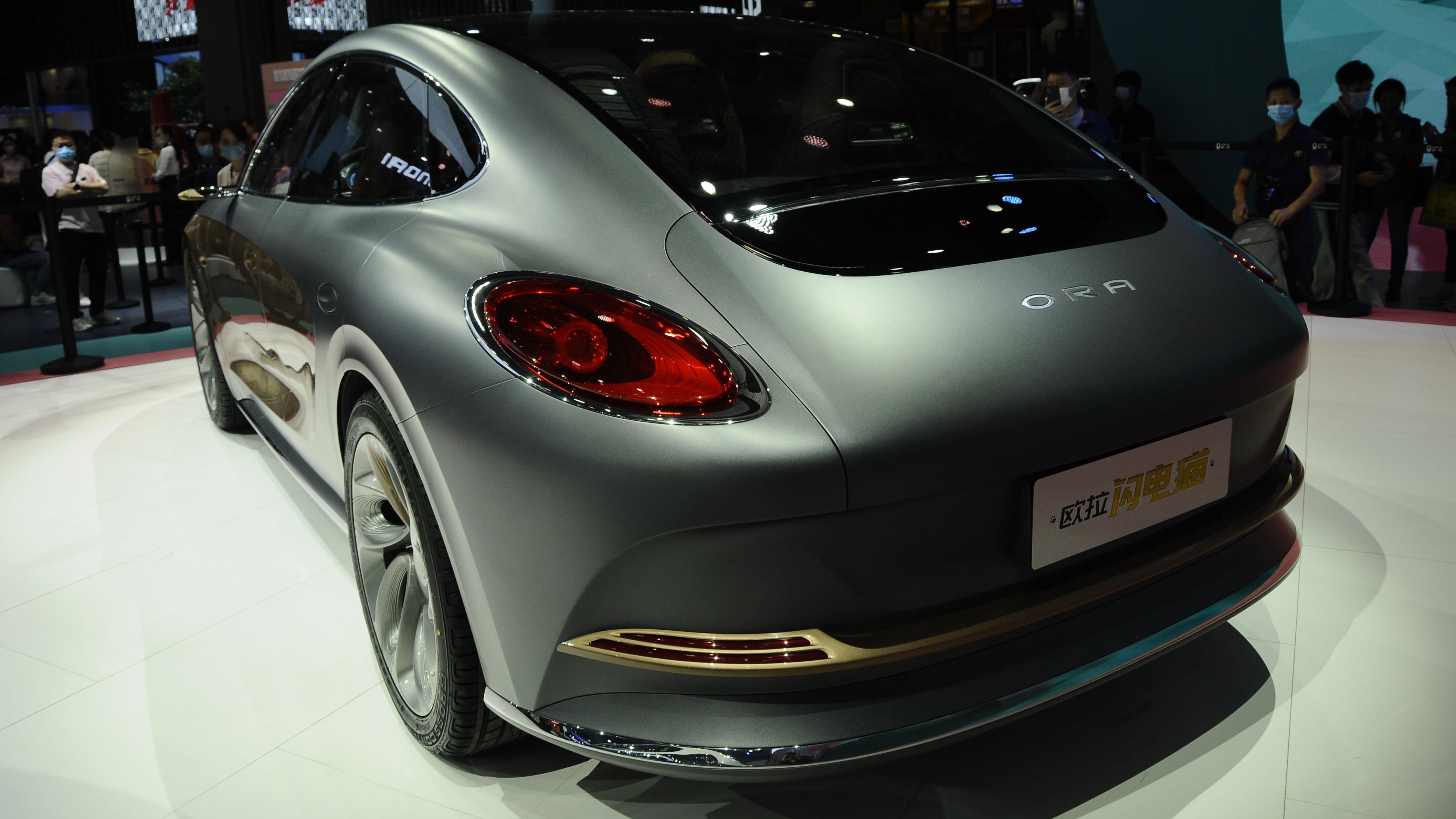 Ora Lightning Cat Concept car front exterior