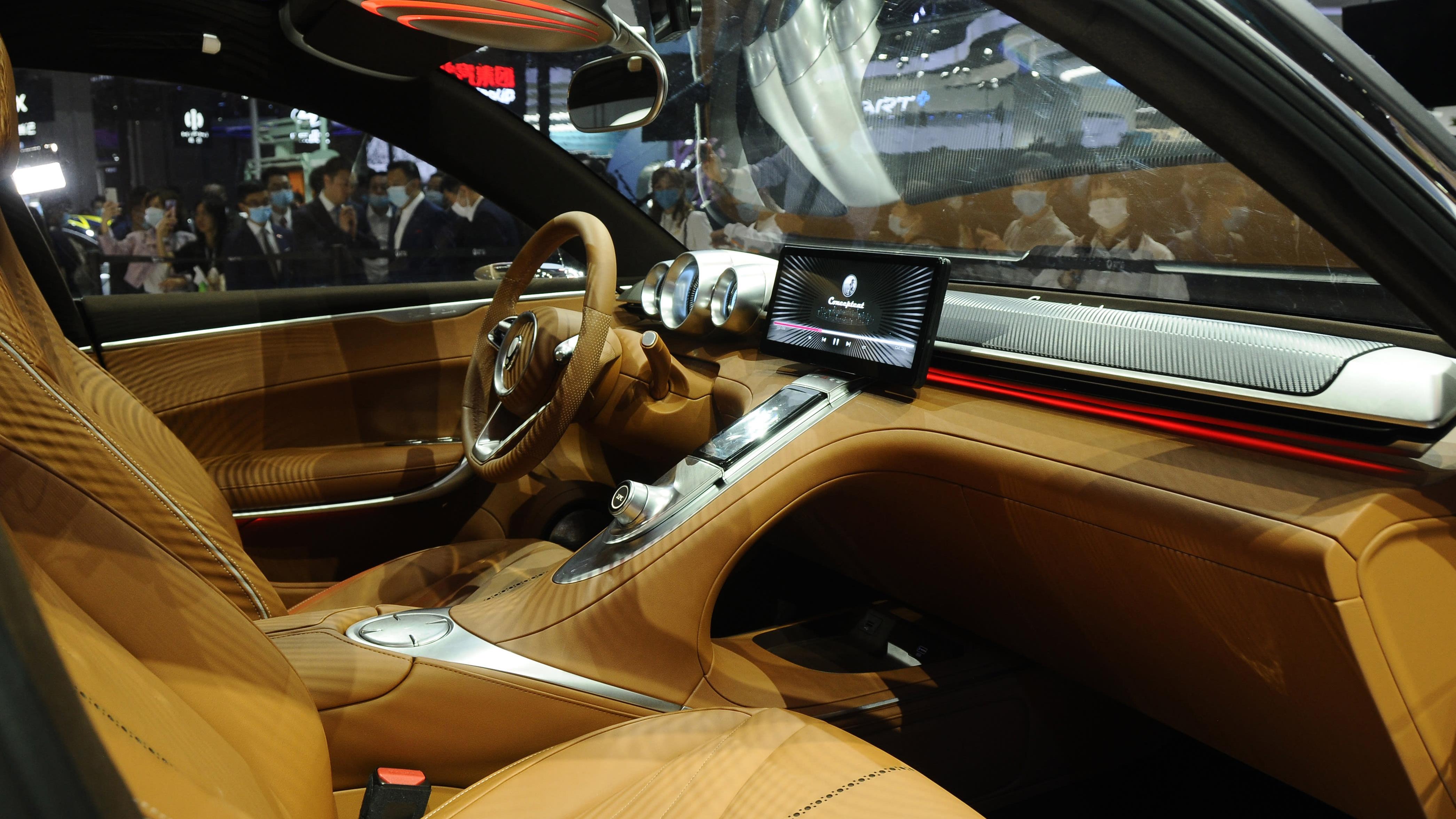 Ora Lightning Cat Concept car interior