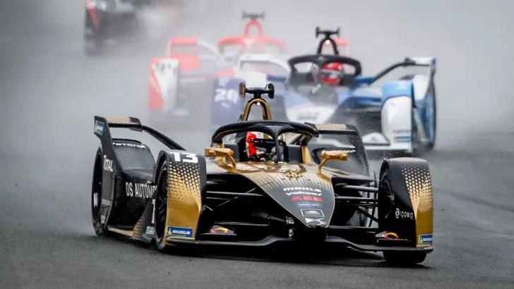 Formula E race Valencia 2021