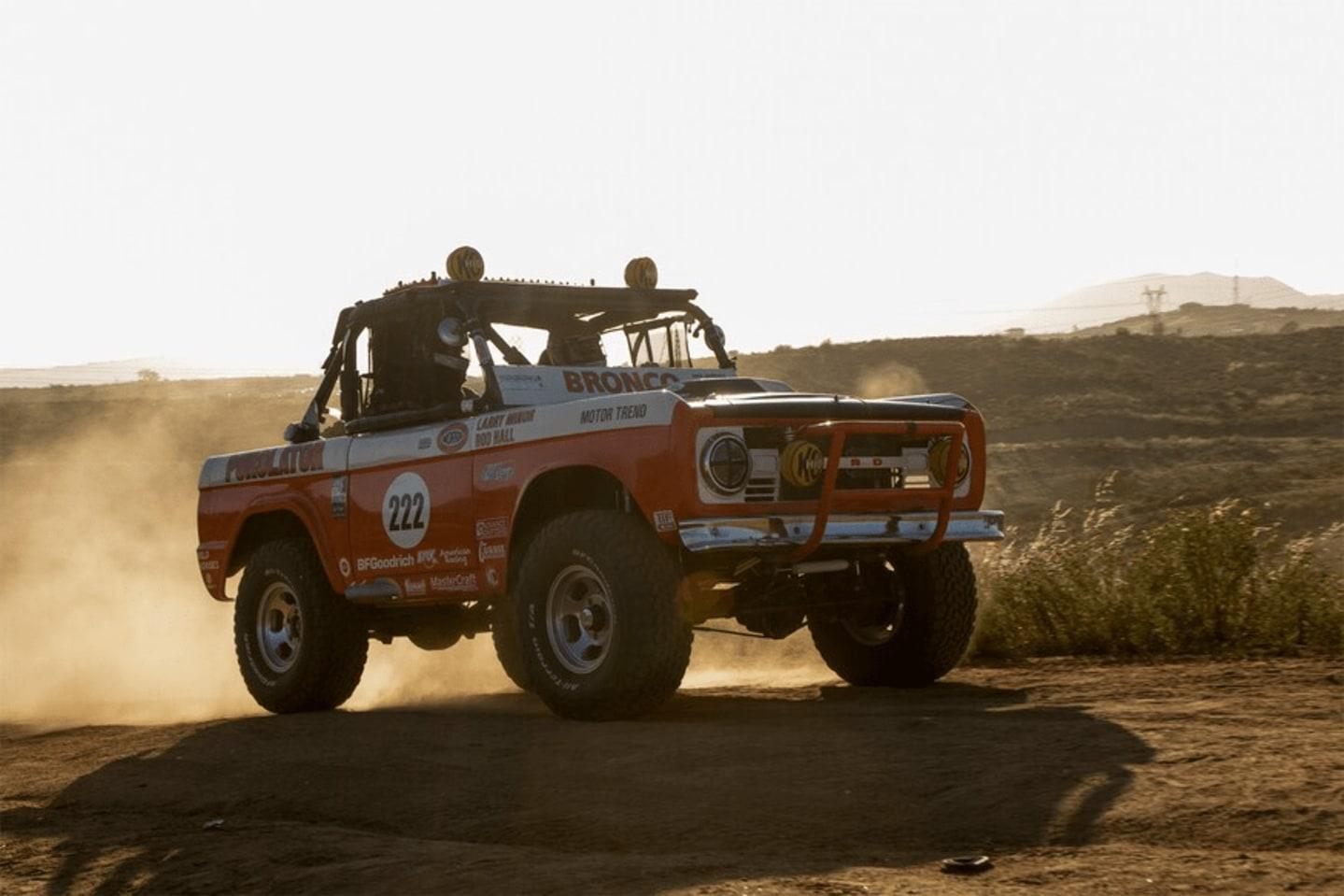 The Ford Bronco - Impressive Racing Legacy
