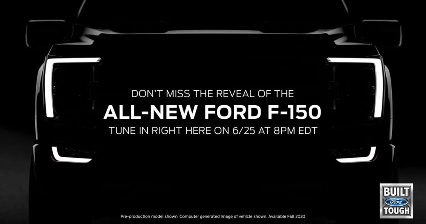 Join J.C. Lewis for the Ford F-150 reveal