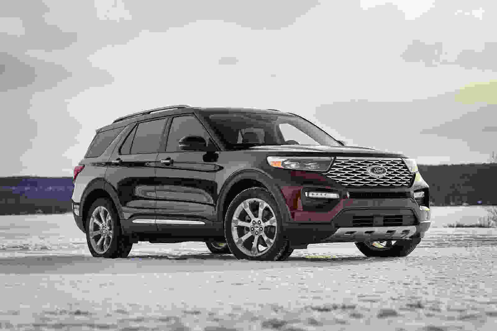 The 2019 vs the 2020 Ford Explorer