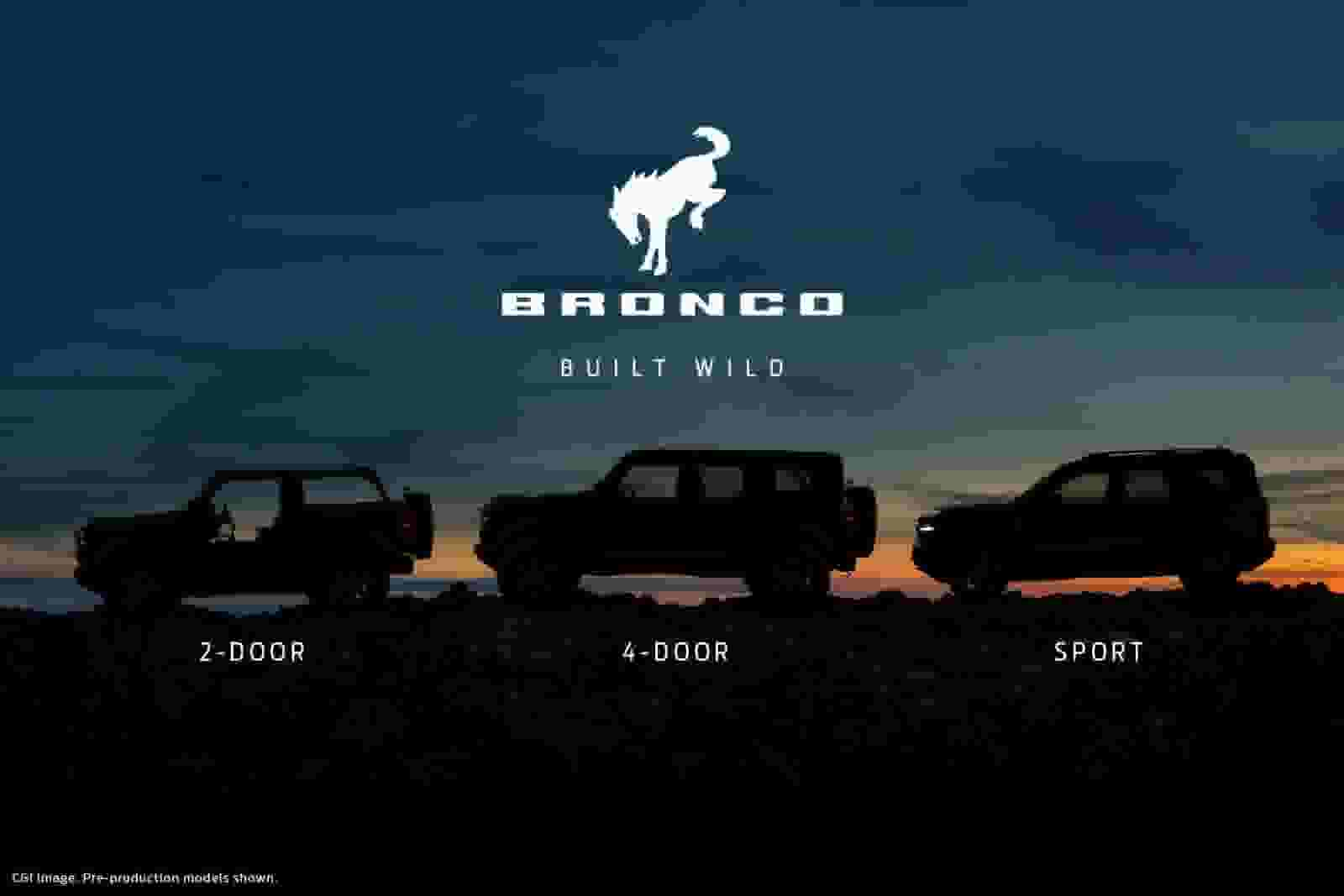 Adventure Awaits in the New Ford Bronco