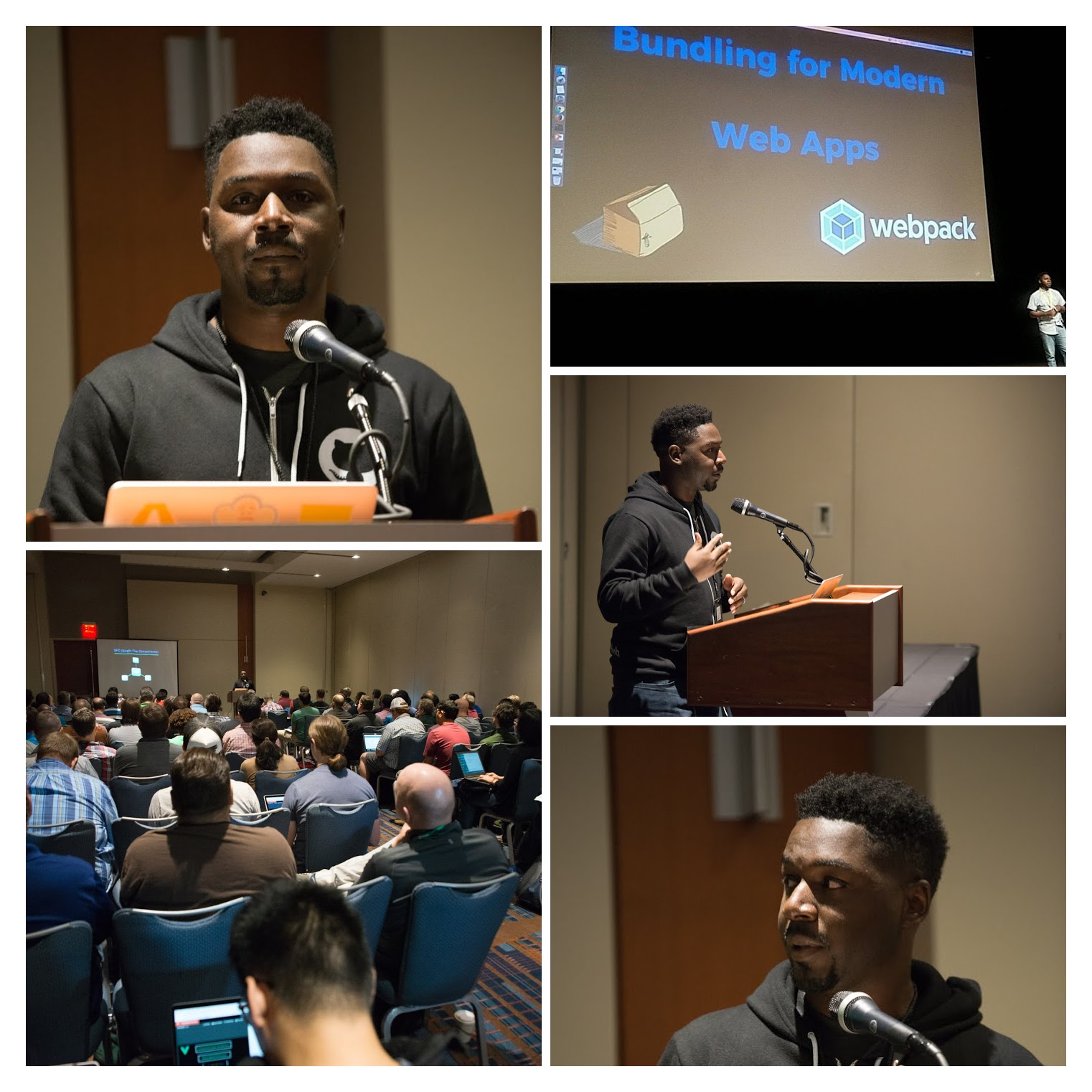 Tirell Mckinnon's Speaker Collage