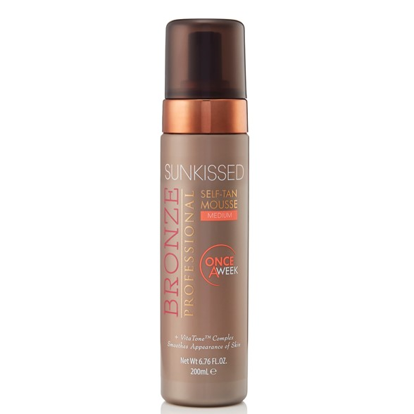 Bronze Professional Once-a-week Self-tan Mousse Medium