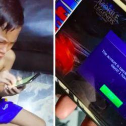 Mark Samonte si bocah viral gara-gara akun Mobile Legends di blokir 30 Tahun
