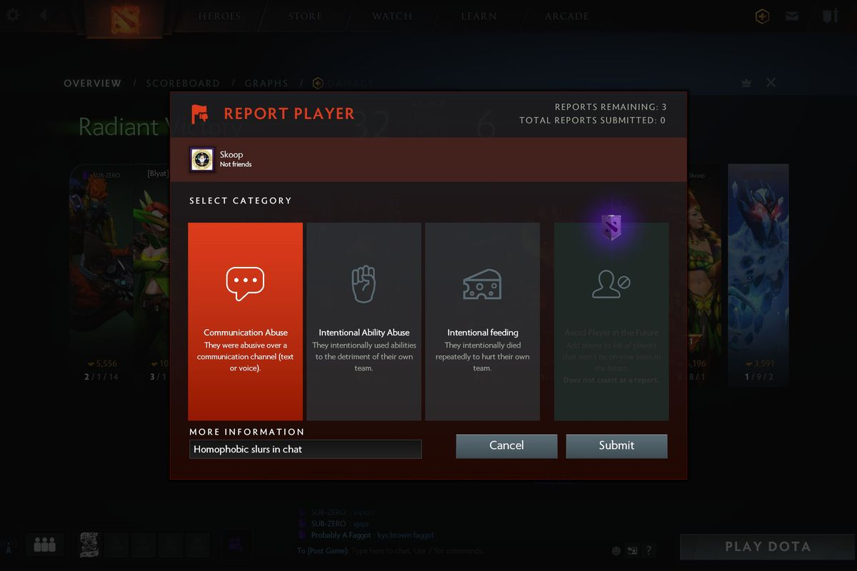 Dota 2 Battle Pass Premium Subscribtion Avoid Player