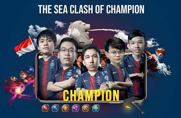 Kalahkan Evos SG, PSG.RRQ Juara 1 SEA Clash of Champions 2019 Singapura, Bawa Pulang 72 Juta