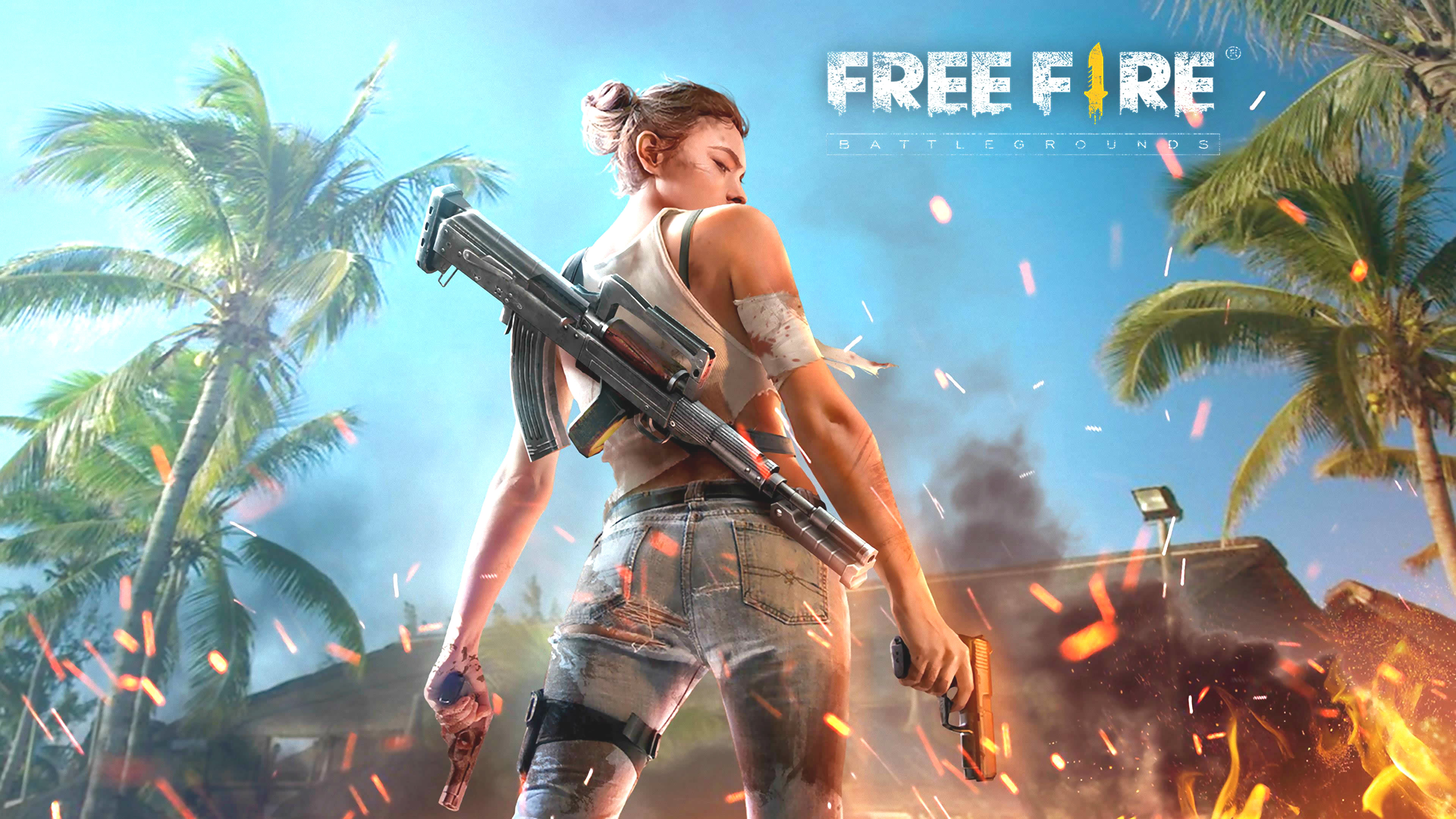 #4 Garena Free Fire Wallpaper 2019 - 2560 × 1440 (QHD, WQHD, Quad HD, 1440p)