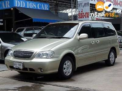 KIA CARNIVAL 7ST 4DR WAGON 2.4I 4AT 2007