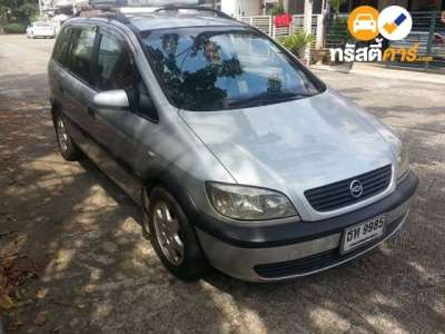 CHEVROLET ZAFIRA CDX 7ST 4DR WAGON 2.2I 4AT 2002