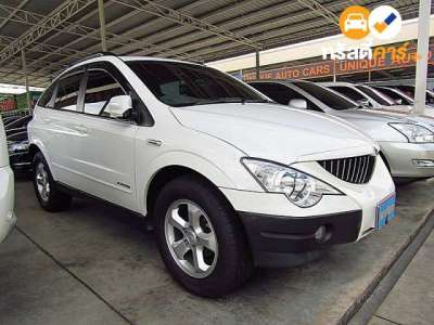 SSANGYONG ACTYON TECHLINE 4DR WAGON 2.0DCT 4AT 2013